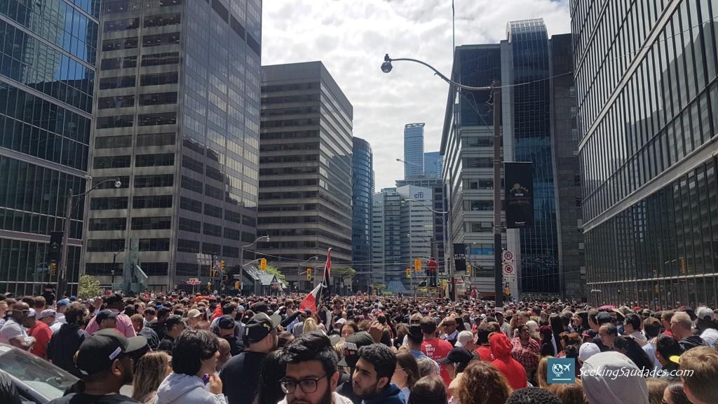 Toronto Raptors Championship Parade, Toronto, Ontario, Canada