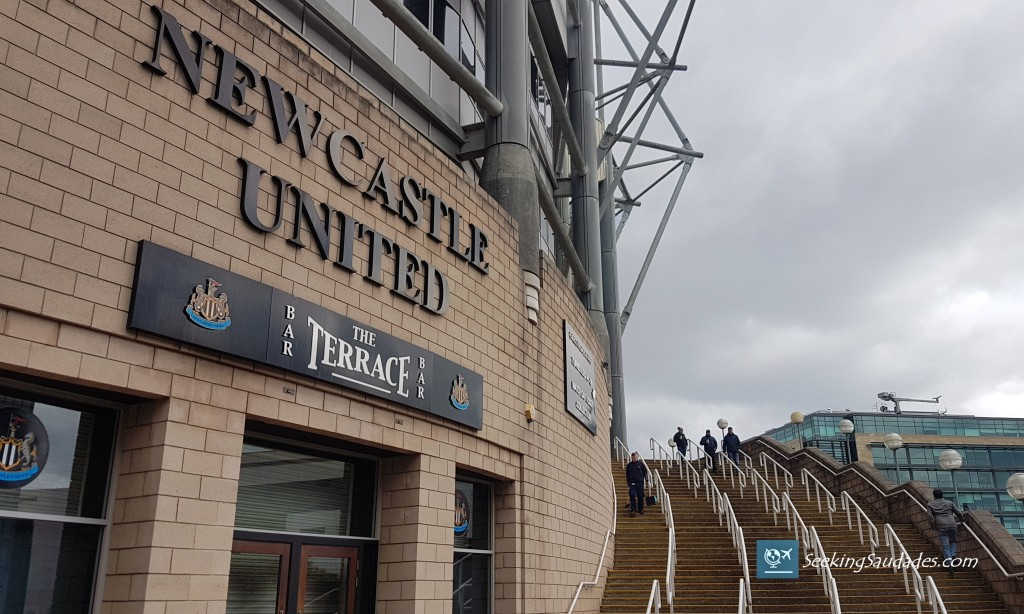 Newcastle United, St. James' Park