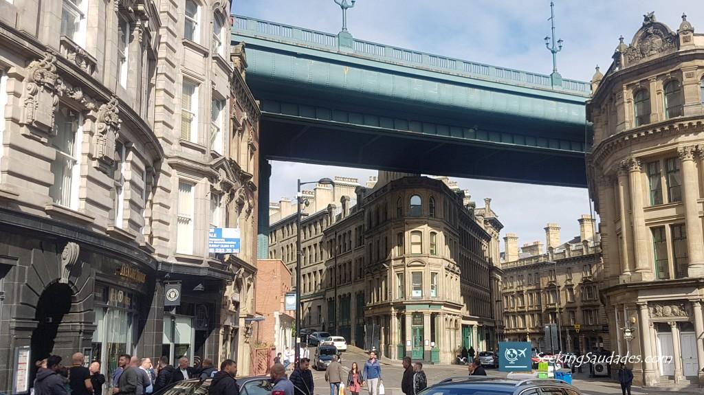 Newcastle, England. Tyne Bridge.