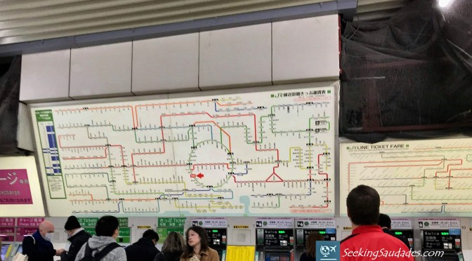 Tokyo Subway Map – Photo Friday #11